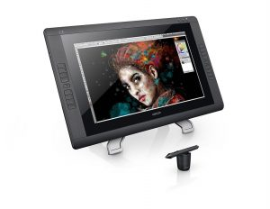 ワコム 液晶ペンタブレット 21.5インチ タッチ機能搭載 Cintiq 22HD touch 【新型番】2015年1月モデル DTH-2200/K1